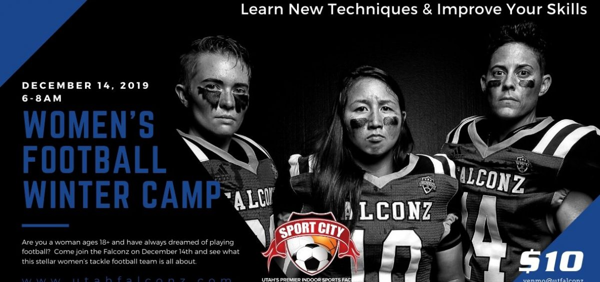 Utah Falconz Womens Football Camp