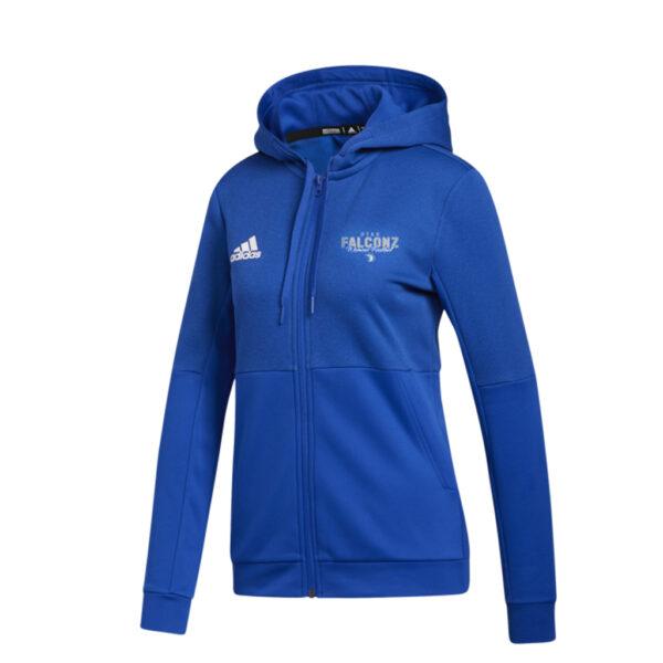 Adidas Women's Team Royal Blue/White Team Issue Full Zip Jacket